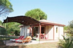 Mietunterkünfte - CHALET KINAL NEW + place per 1 vehicle ECO - Camping Les Cigales