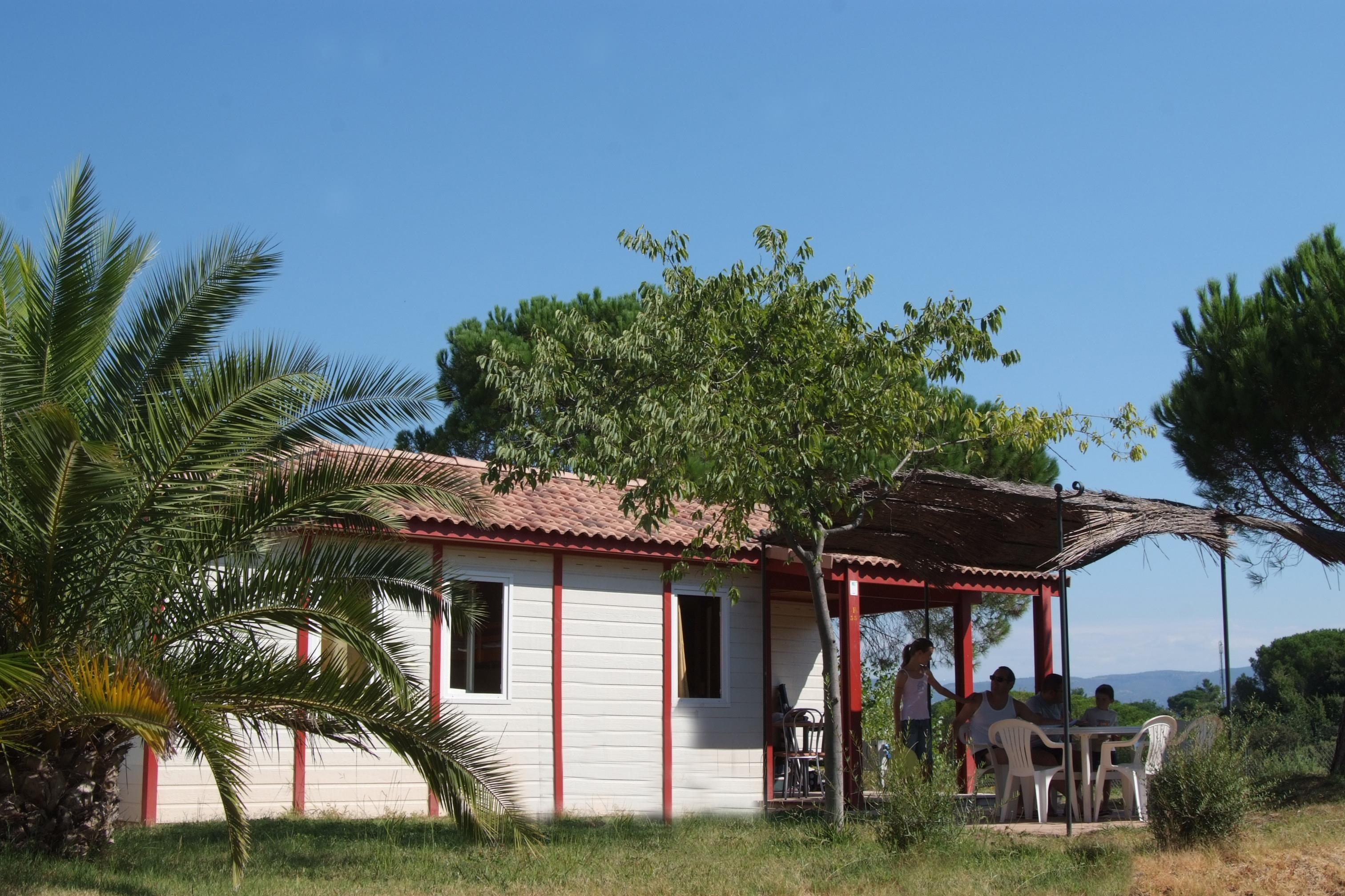 Location - Chalet Quirigua 8 Pers. + 2 Places Véhicules Confort. - Camping Les Cigales