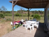 Rental - BAHAMAS 8 pers.  + place per 1 vehicle PREMIUM - Camping Les Cigales