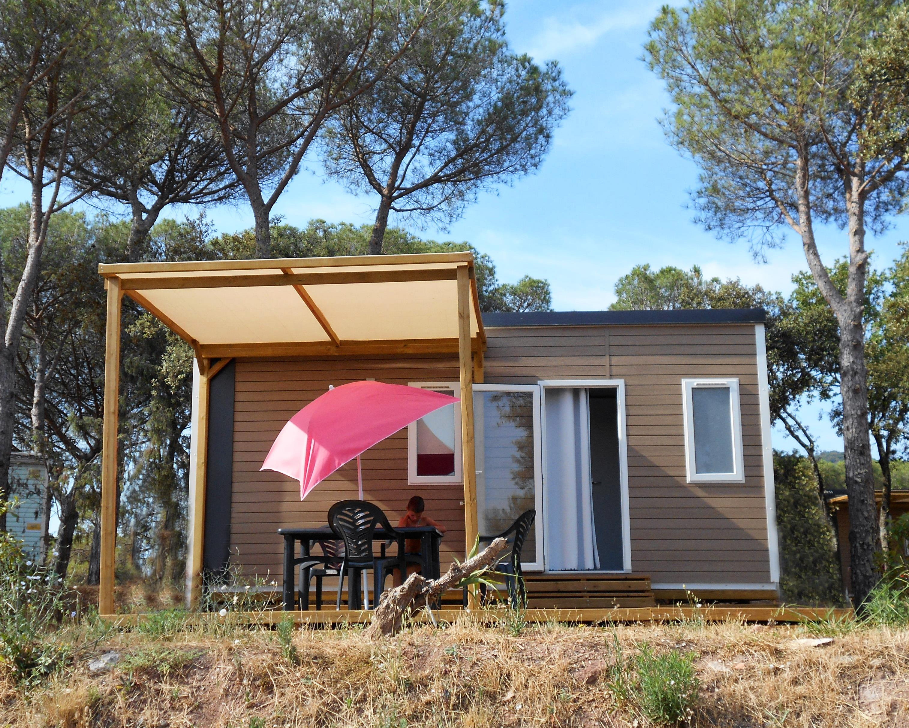 Location - Utah 4 Pers. + 1 Place Véhicule. Eco - Camping Les Cigales