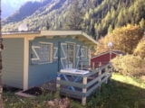Rental - Chalet Beaufortain 29M² 2 Bedrooms + Terrace 12M² - Camping Les Lanchettes