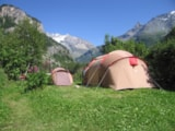 Pitch - Comfort Package (1 tent, caravan or motorhome / 1 car / electricity 10A) - Camping Les Lanchettes