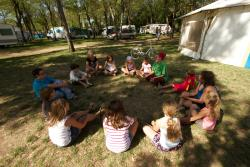 Entertainment organised Camping De Peyroche - Ruoms