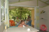 Rental - Chalet Gitotel Access 24m² - 2 bedrooms (adapted to the people with reduced mobility) - Ardèche Camping