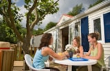 Rental - Mobile home Charmeur 32m² - 3 bedrooms - Ardèche Camping