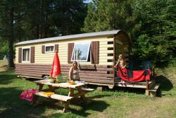 Accommodation - Gipsycar Without Toilet Blocks - Ardèche Camping