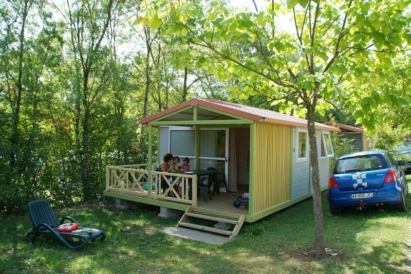 Locatifs - Chalet Nemo 20M² - 2 Chambres - Ardèche Camping