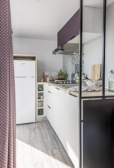 Rental - Mobilhome Grand Large trois chambres Clim. - Ardèche Camping