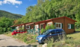 Rental - Chalet Grand Luxe 31m² - 2 bedrooms - Ardèche Camping