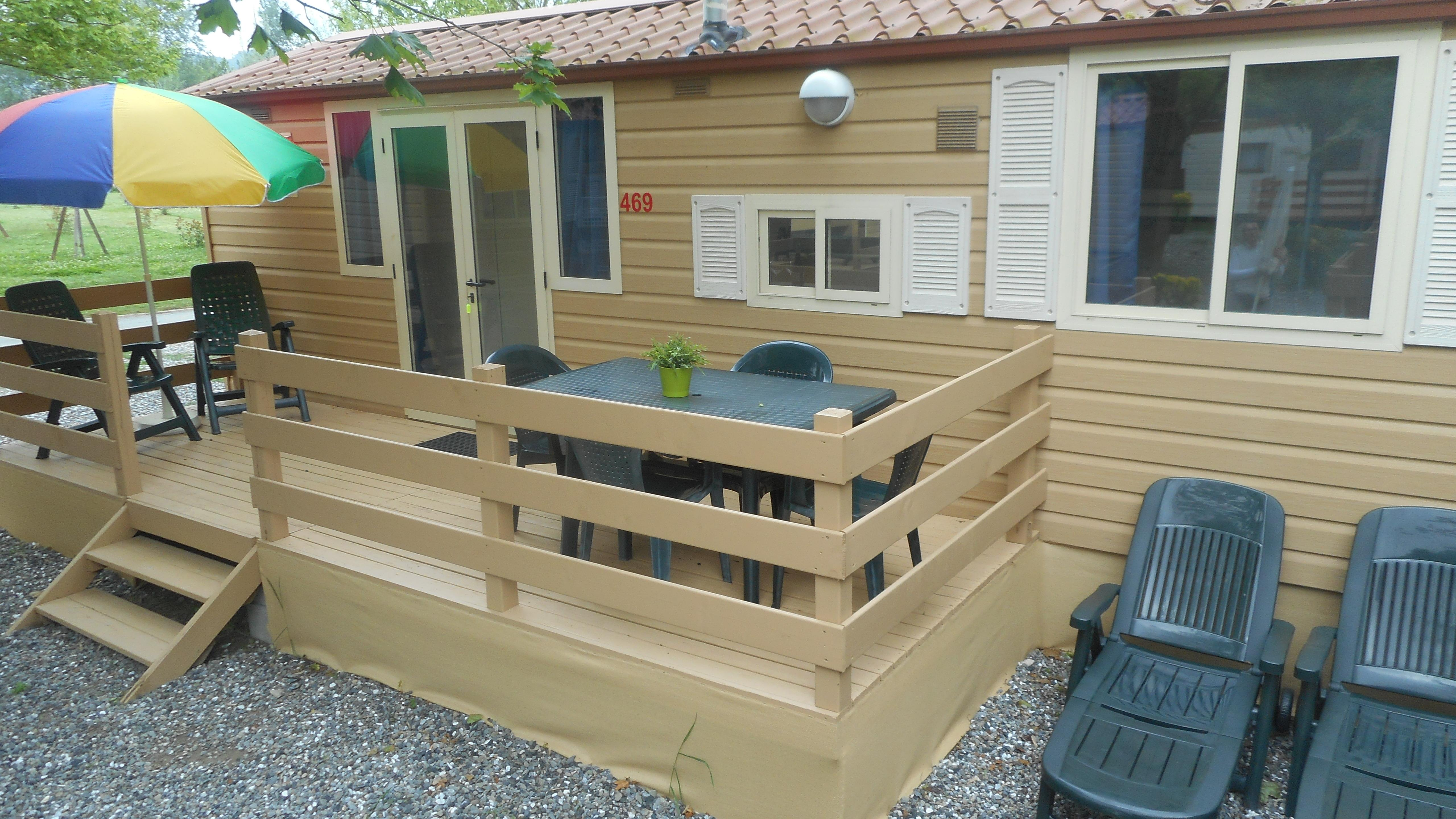 Huuraccommodaties - Mobil Home Comfort - Camping River