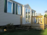Rental - Mobile home Confort+ 33 m² - 3 bedrooms / Terrace - Flower Camping Les Vertes Feuilles