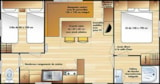 Rental - Mobile home Confort+ 27-30 m² - 2 bedrooms / Terrace - Flower Camping Les Vertes Feuilles