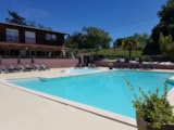 Pitch - Camping pitch + Caravan - Camping L'Oasis du Berry