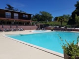 Pitch - Camping pitch + Tent - Camping L'Oasis du Berry