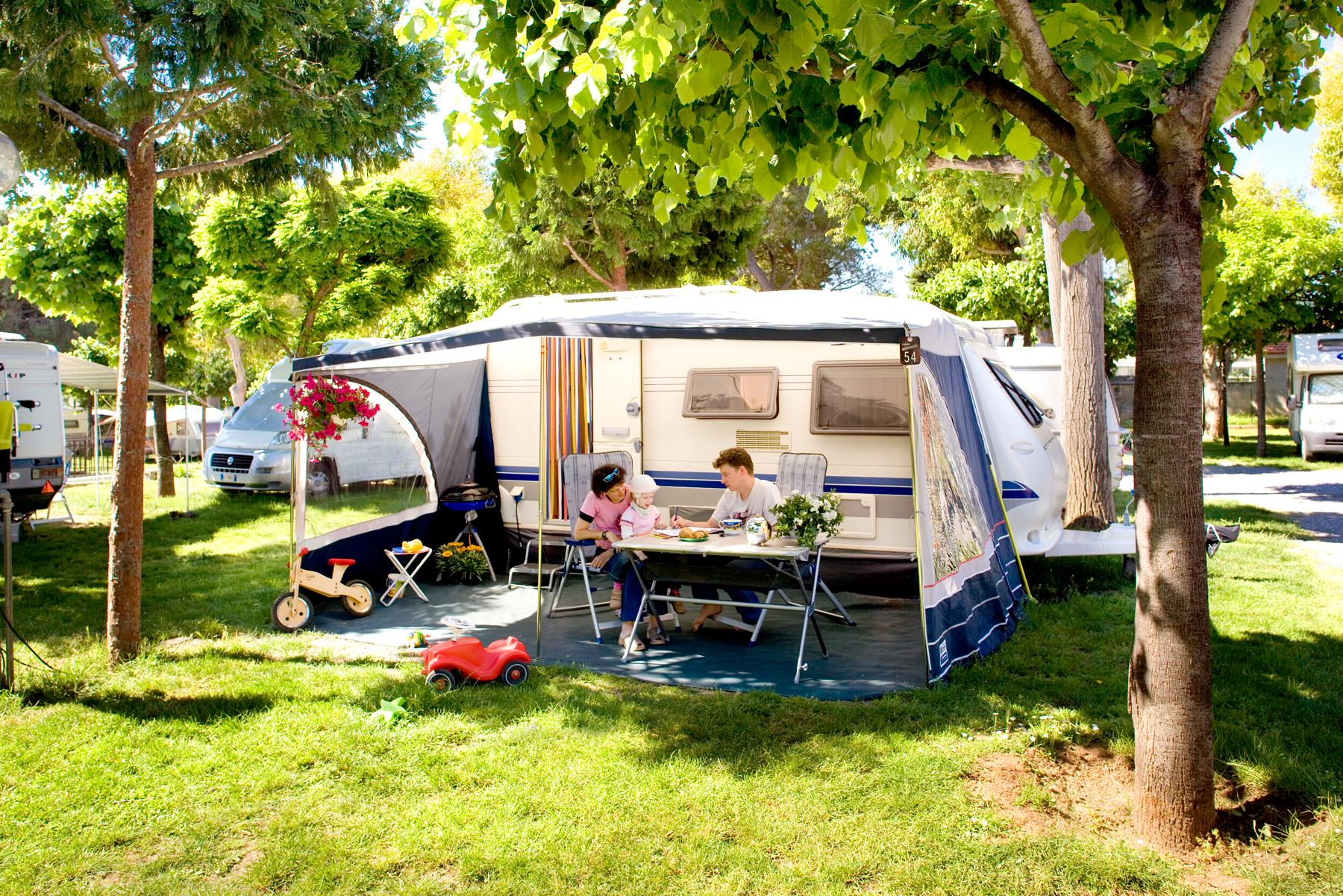 2 Persons camping-pitch