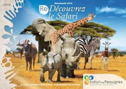 Accomodation And Entrance For Safari De Peaugres
