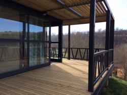 Huuraccommodatie - Chalet Panoramic 2 Slaapkamers  25 M2 Overdekt Terras 18M2 New For 2020 - Sites et Paysages L'Oasis