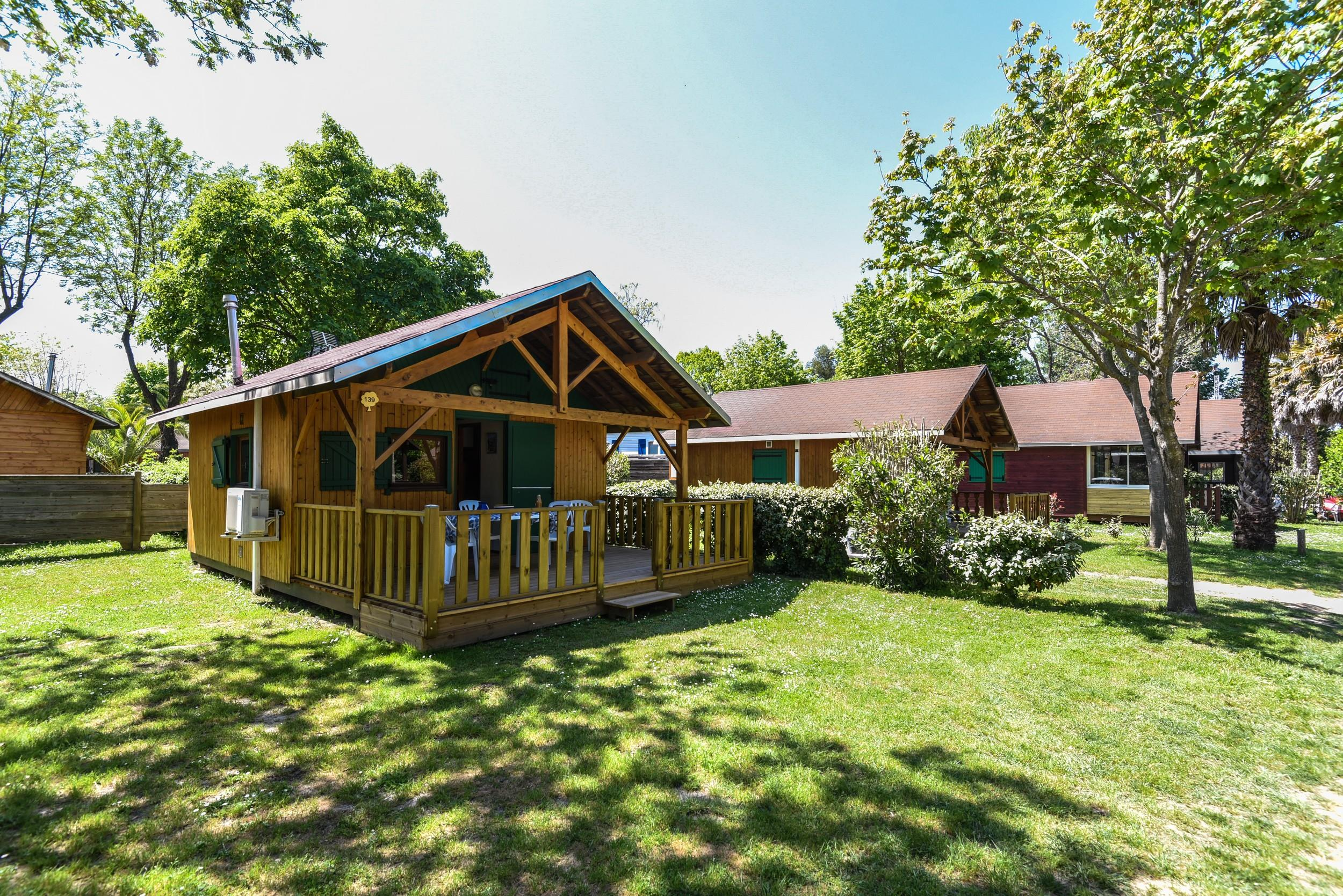 Location - Chalet Bois Zenith 22.5M² (Bois Traditionnel) Tv + Wifi - Camping Les Galets