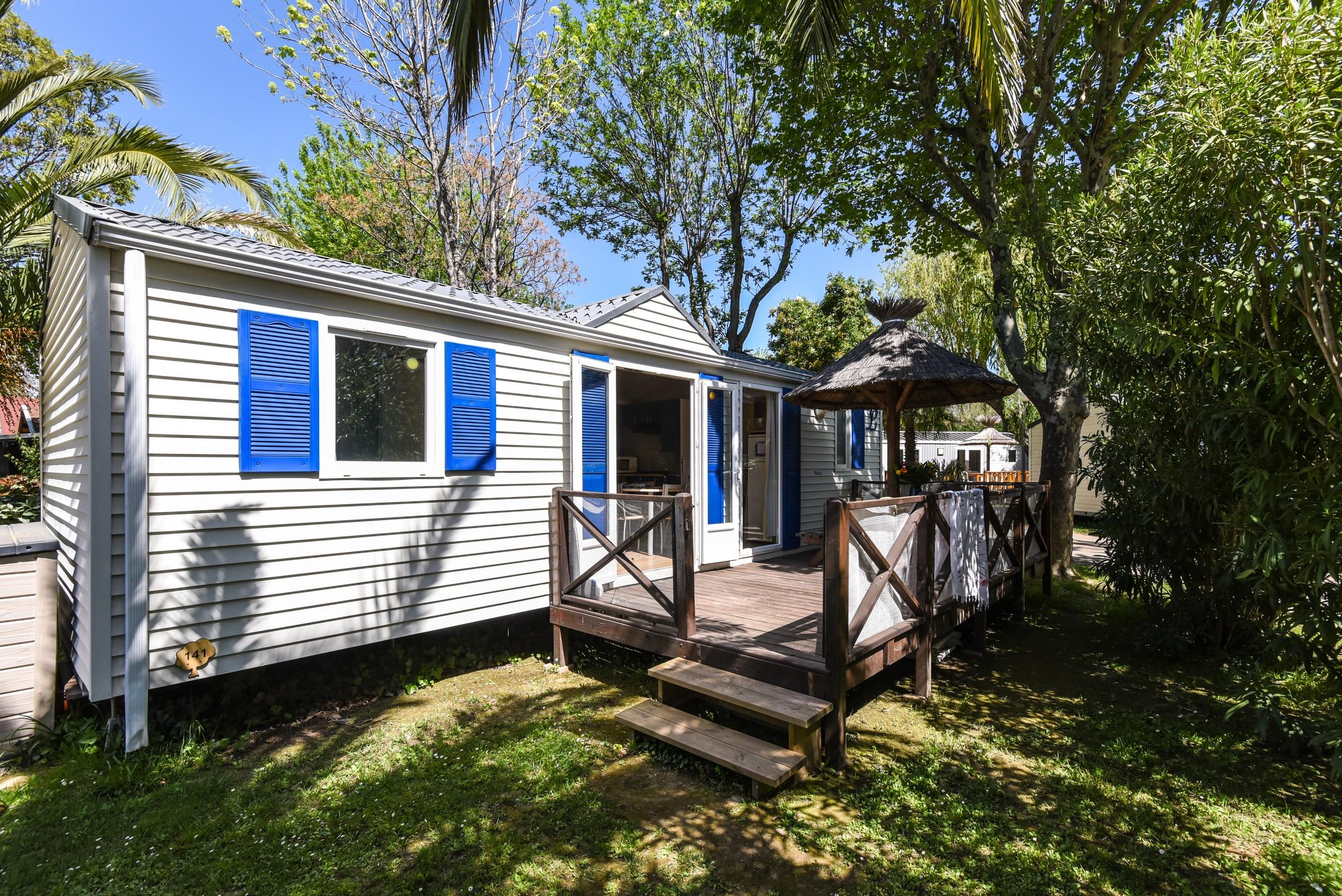 Location - Mobil-Home Budget Family 3 Chambres 32M² Tv + Wifi - Camping Les Galets
