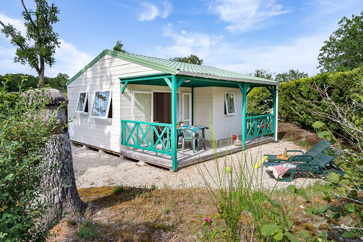 Location - Chalet 2 Chambres ** - Camping Sandaya Les Alicourts Resort