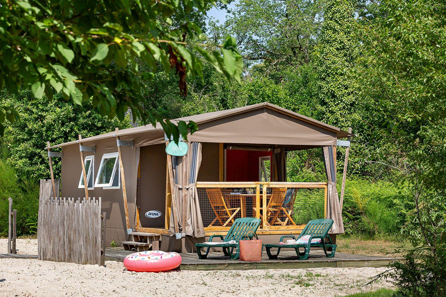Location - Lodge Forest Camp 2 Chambres *** - Camping Sandaya Les Alicourts Resort