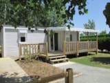 Rental - Mobile-home ROSEAU, wheelchair access, 2 bedrooms, equipped for someone with reduced mobility - Domaine Le Jardin du Marais