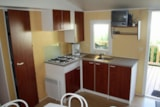 Rental - Mobile home PAPILLON 2 bedrooms - Domaine Le Jardin du Marais