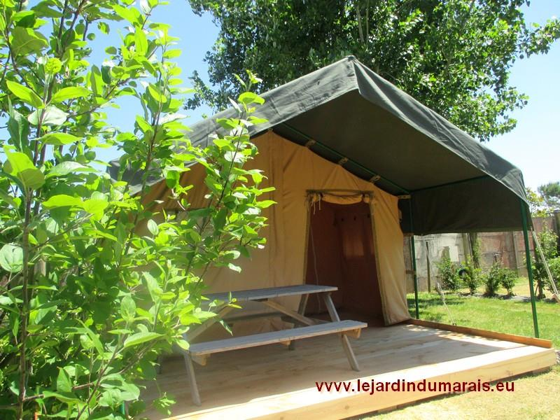 Rental - Tent Lodge Natur' 2 Rooms - Domaine Le Jardin du Marais