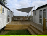 Rental - Mobile home CAPUCINE 2 bedrooms - DUO TRIBU - Domaine Le Jardin du Marais