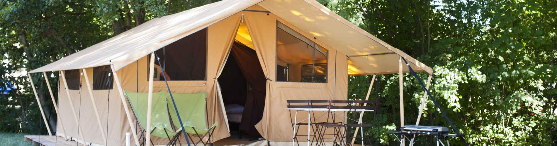 Rental - Tent Family - Camping Huttopia Gorges du Tarn