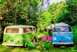 Pitch - Package motorhome - Camping Le Val de la Marquise