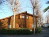 Rental - Big Wood Chalet (2 Rooms + Mezzanine Mit 4 Beds) - Camping Village Club Le Napoléon