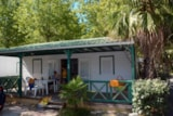 Rental - Chalet Samibois (3 Bedrooms), Air-Conditioning - Camping Village Club Le Napoléon
