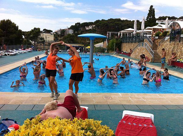 Entertainment organised Camping Cala Gogo - Calonge