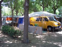 STANDARD CAMPING PITCH (60 m² aprox) (caravan or tent+car+elect.3amp)/(autocarvana + elect.3amp)