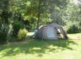 Pitch - Pitch: car + camping-car - Camping Les Bains