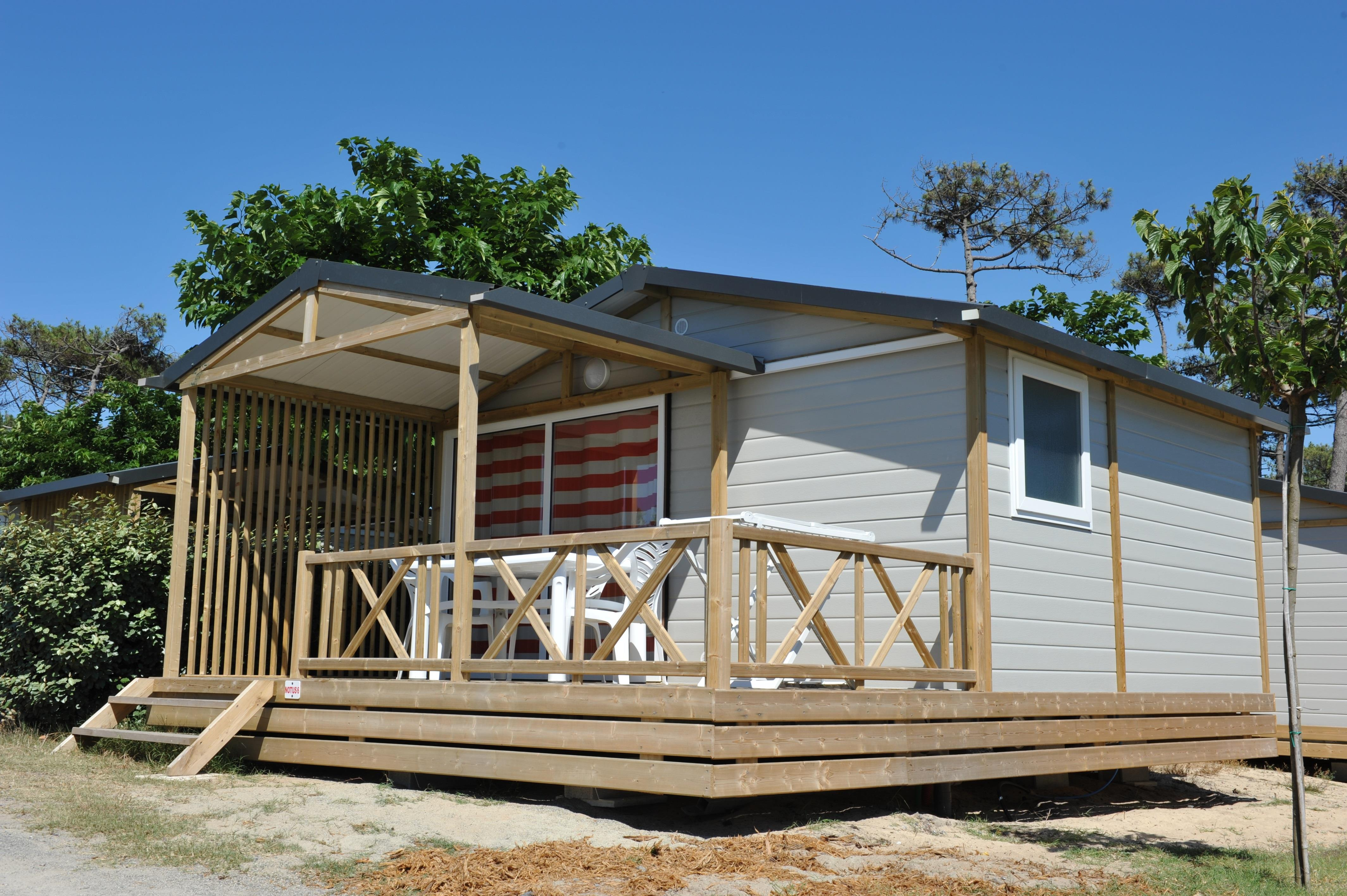 Location - Chalet Notus - Camping Le Saint Martin