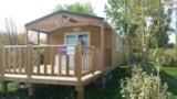 Rental - Loggia bay with terrace (2 bedrooms) - AIROTEL Camping OLERON