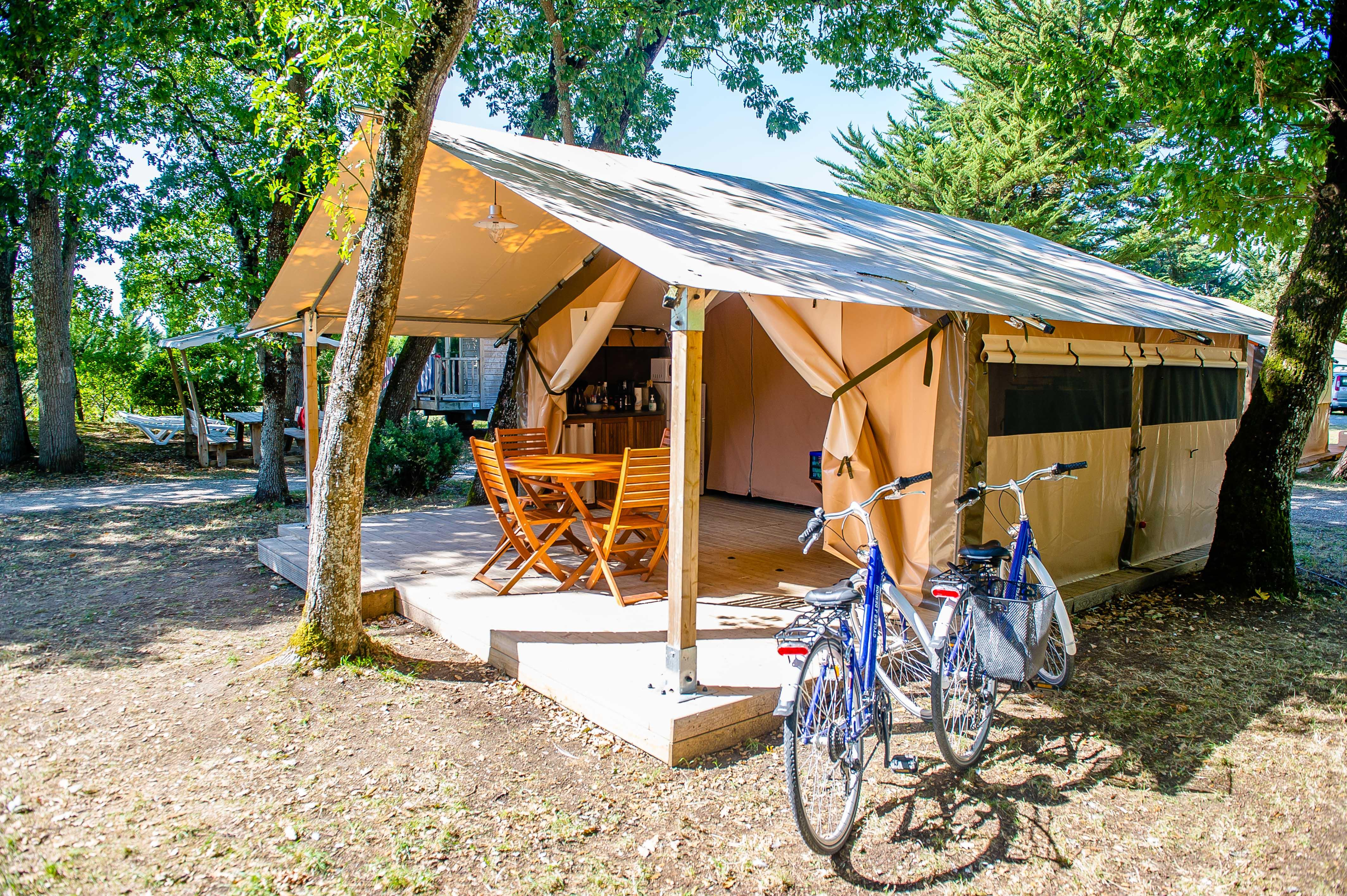 Location - Bungalow Toilé Victoria 2 Chambres (S) - Camping Airotel Oléron