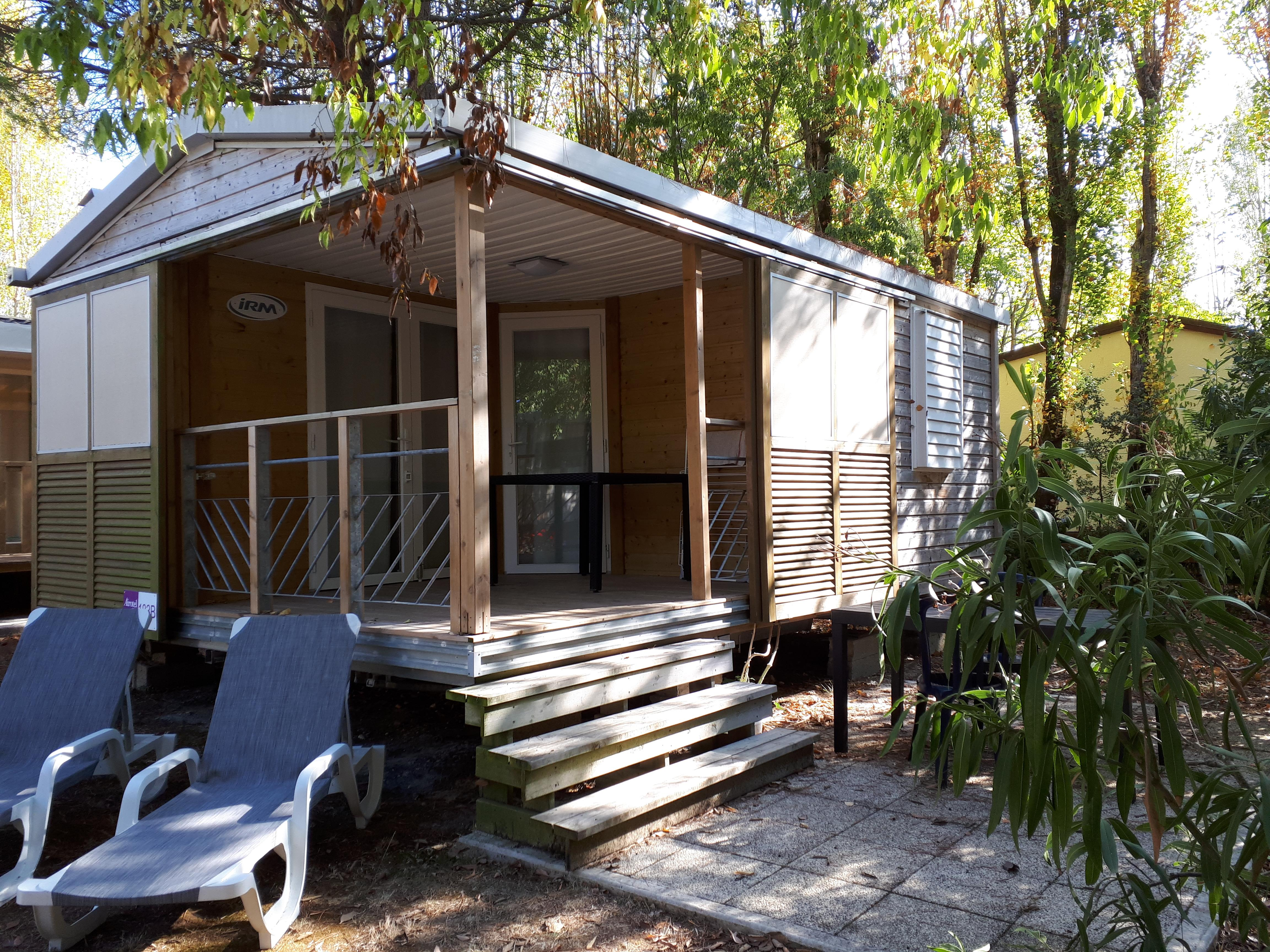Location - Chalet 1 Chambre 2 Pers 24 M2 (S) - Camping Airotel Oléron