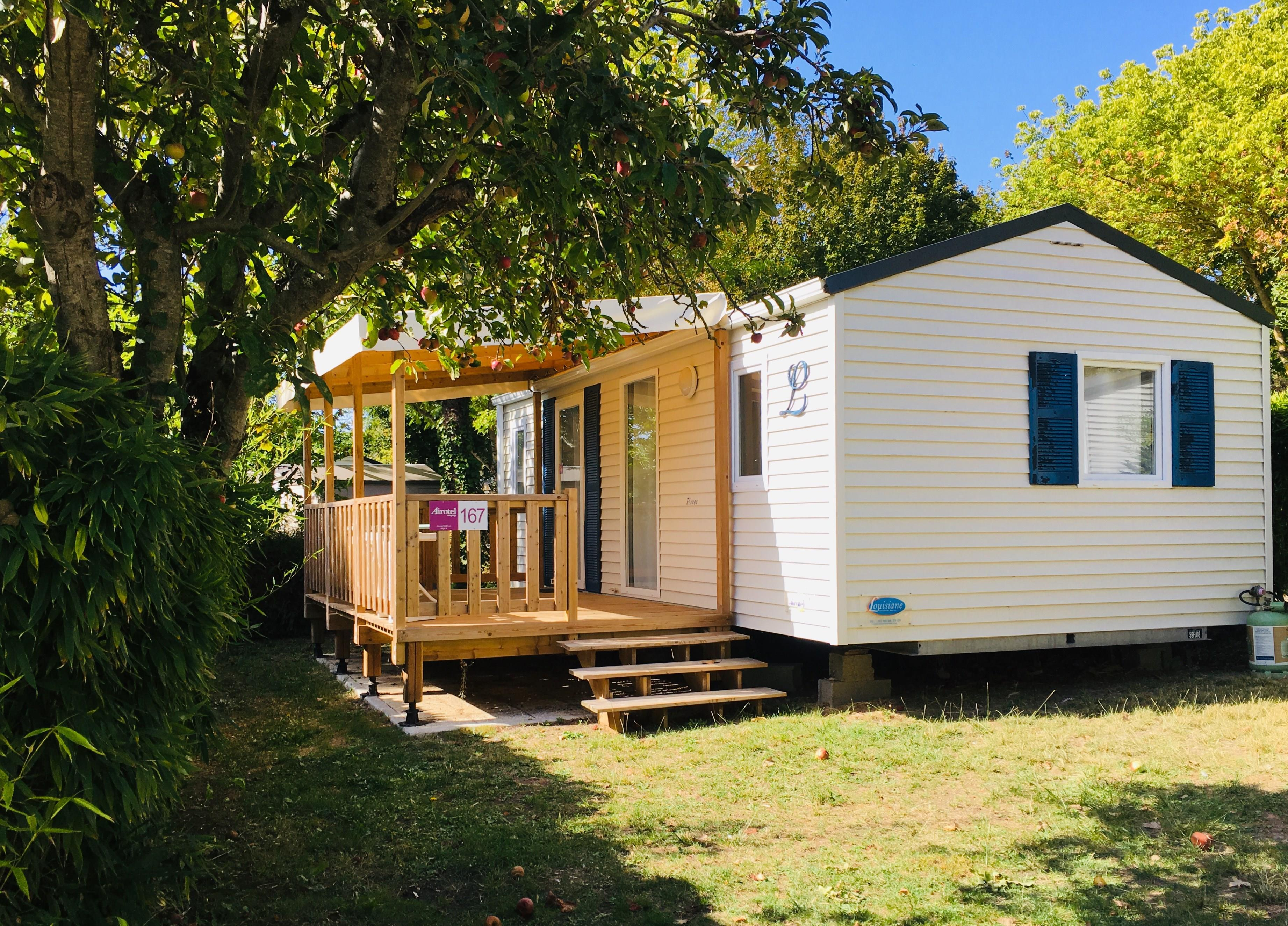 Location - Mobil-Home 'Confort Plus' 2 Chambres (S) - Camping Airotel Oléron
