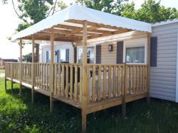 Huuraccommodaties - Mobil Home Grand Confort Dressing - AIROTEL OLERON
