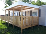 Rental - Mobil home grand confort dressing - AIROTEL Camping OLERON