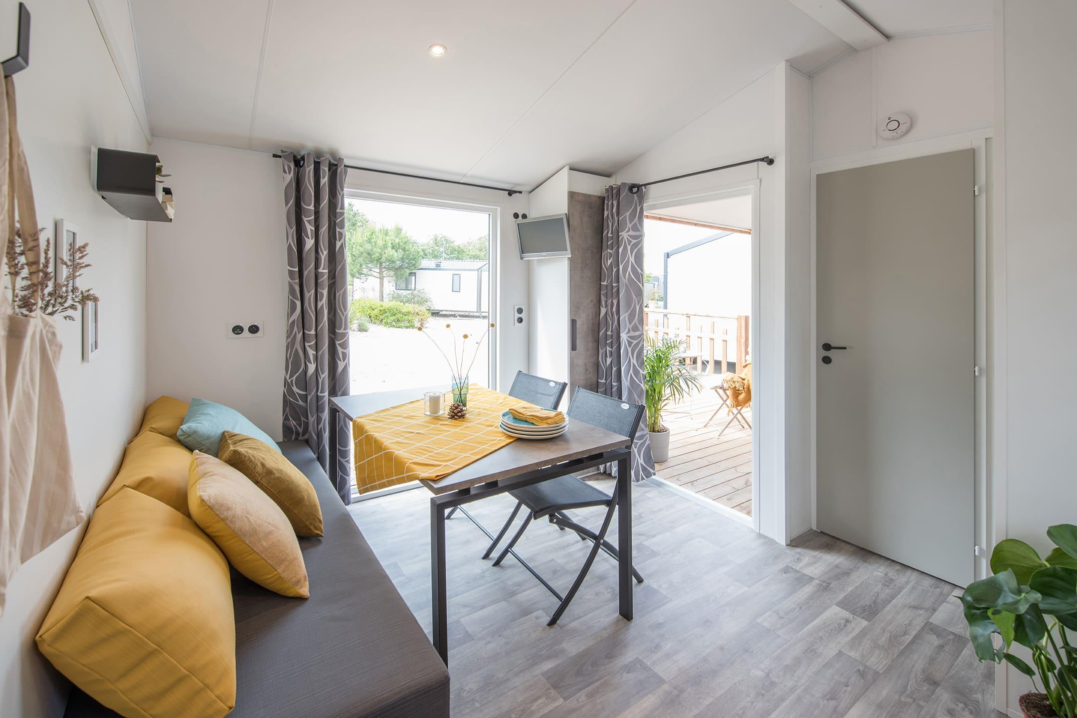 Location - Chalet Malaga 2 Pers (S) - Camping Airotel Oléron