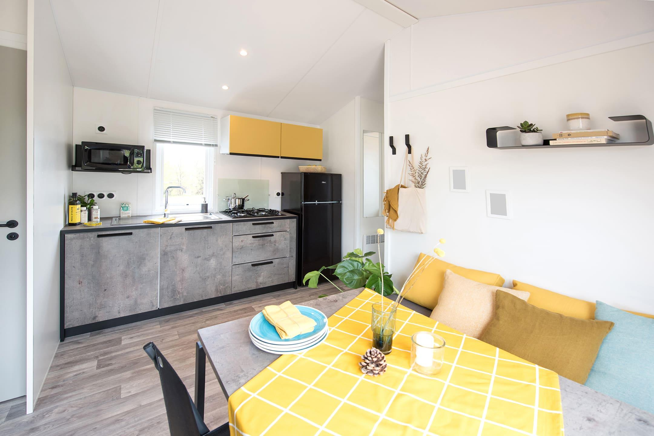 Location - Chalet Malaga 4 Pers 2 Chambres( S ) - Camping Airotel Oléron