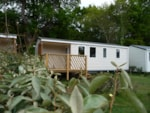 Rental - Mobil Home Loggia 3 - 3 bedrooms - 33 m² + Half Covered terrace- TV - - Camping Sites et Paysages de Penboch