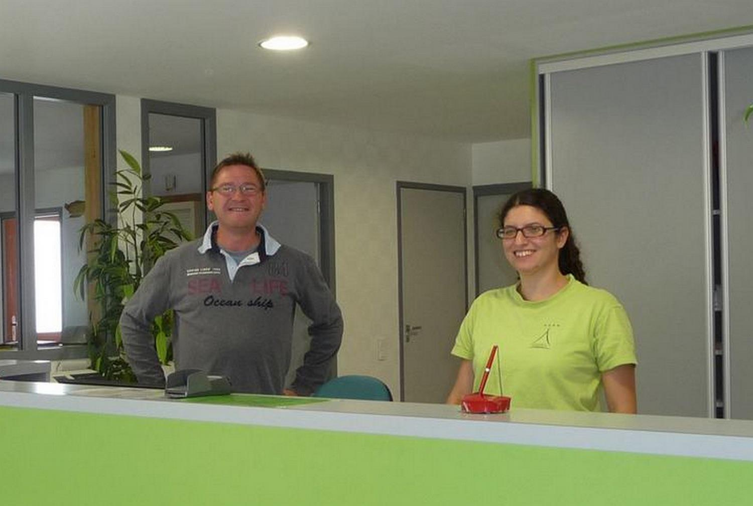 Reception team Camping Sites et Paysages DE PENBOCH - ARRADON