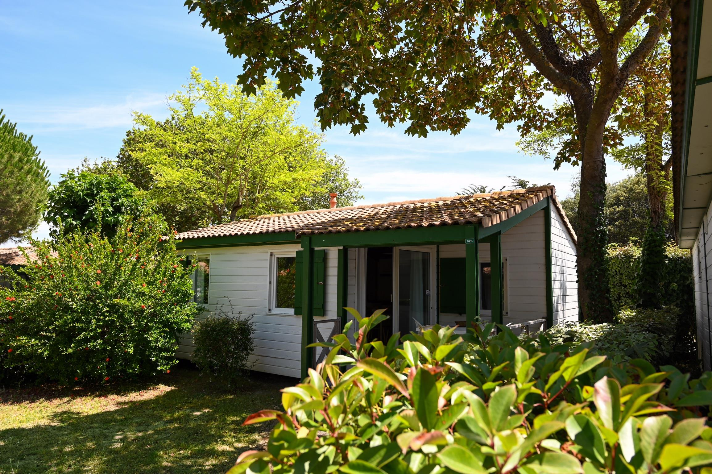 Location - Chalet Matthiole - Camping Les Gros Joncs