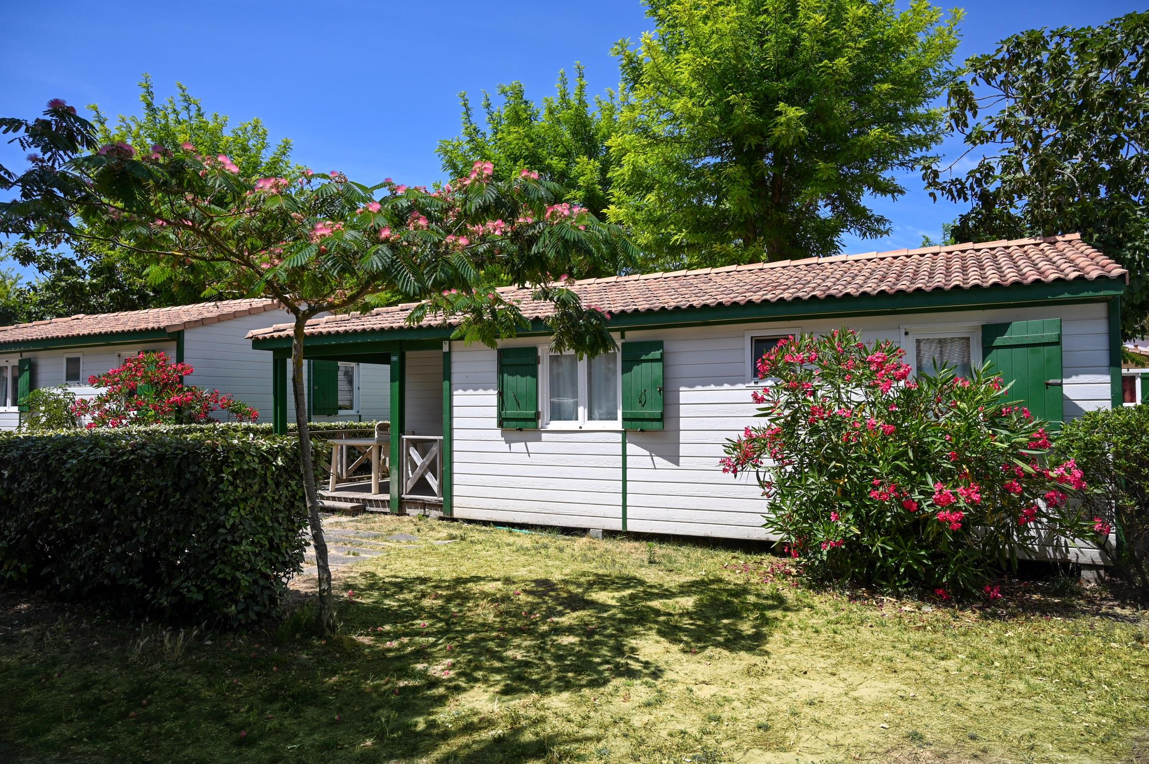 Location - Chalet Family - Camping Les Gros Joncs