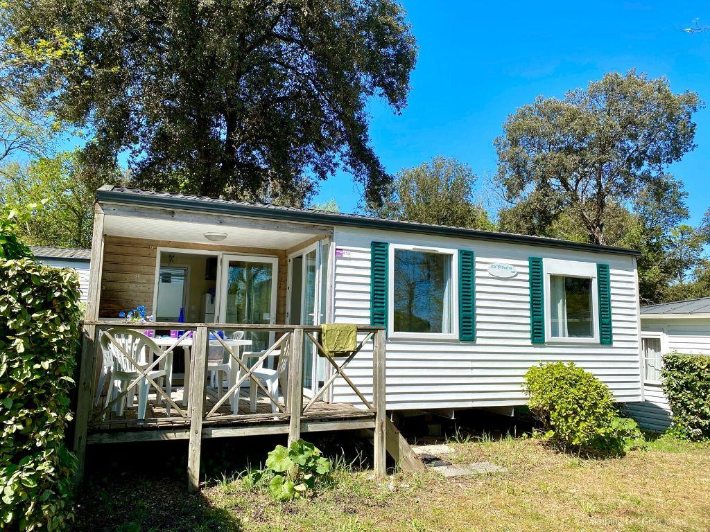 Location - Cottage O'phéa Plancha - Camping Les Gros Joncs